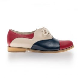 pantofi oxford shoes dama colorati