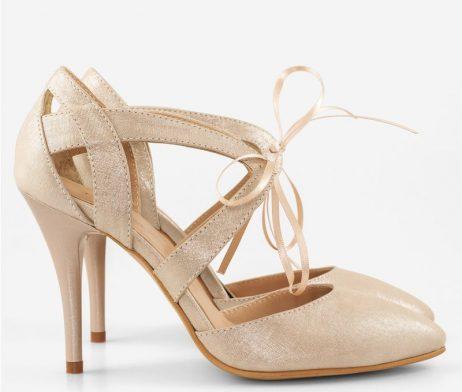 papuci dama piele naturala eleganti