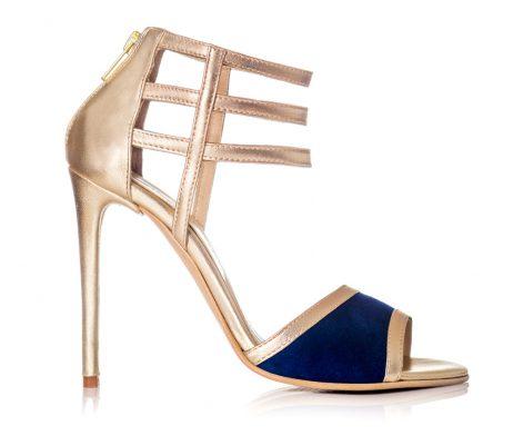 sandale aurii sandale albastru sandale elegante