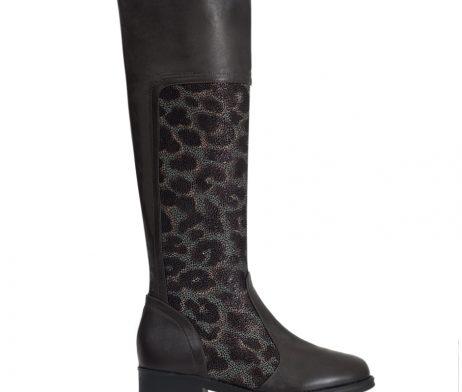 cizme dama piele cizme lungi din piele cizme femei piele naturala cizme leopard