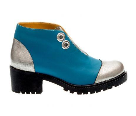 ghete colorate bocanci dama colorati ghete albastre