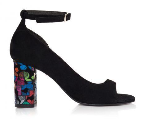 sandale dama sandale la comanda sandale toc colorat