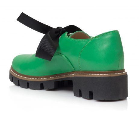 ghete dama pantofi oxford pantofi verzi