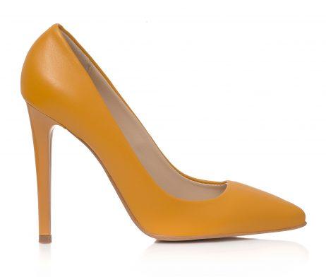 pantofi stiletto pantofi eleganti pantofi galbeni