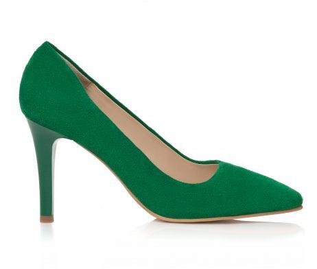pantofi stiletto pantofi la comanda pantofi verzi