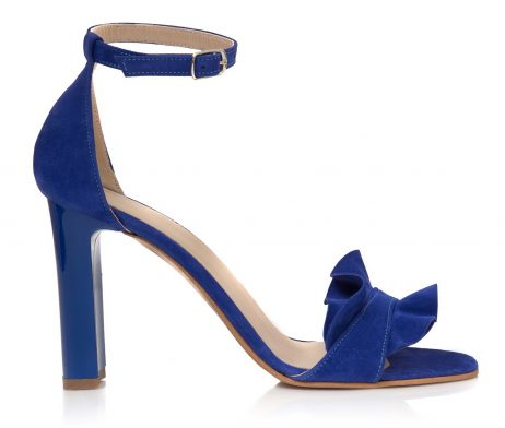 sandale dama sandale la comanda sandale albastru